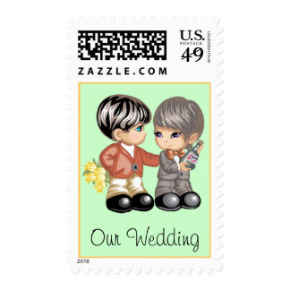 Gay Wedding Postage