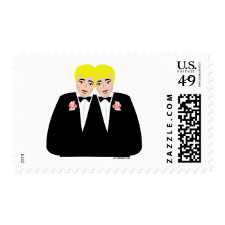 Gay Wedding Stamps