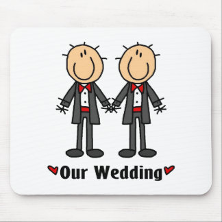 Gay Weddings,Male Mouse Pad