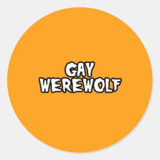 GAY WEREWOLF - Halloween -.png Sticker