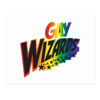 Gay Wizards Postcard