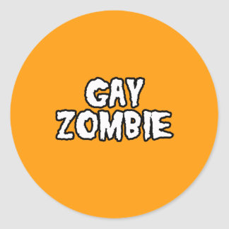 GAY ZOMBIE - Halloween -.png Stickers