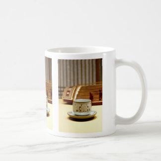 Gayageum and teacup mug
