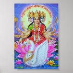 gayatri goddesses poster