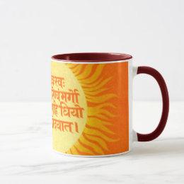 Gayatri Mantra Mug