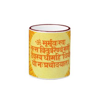 Gayatri Mantra Ringer Mug