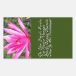 Gayatri mantra rectangle stickers