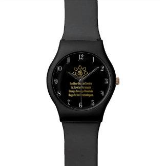 Gayatri mantra wrist watches