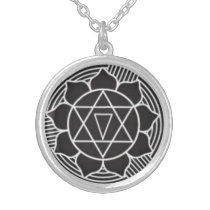 Gayatri Yantra Necklace Talisman