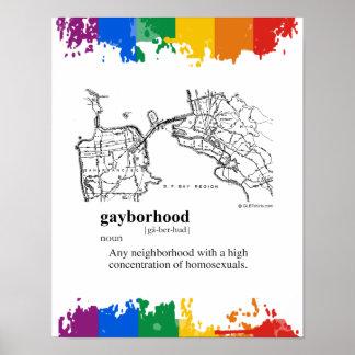 GAYBORHOOD POSTERS