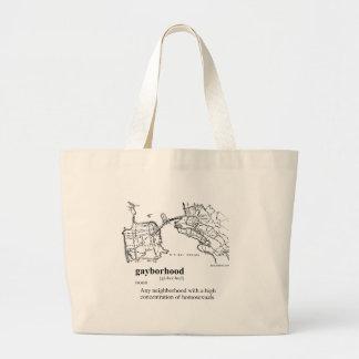 GAYBORHOOD TOTE BAG