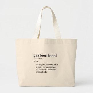 GAYBOURHOOD CANVAS BAGS