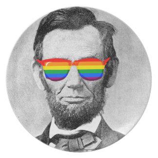 Gaybraham Lincoln Plates