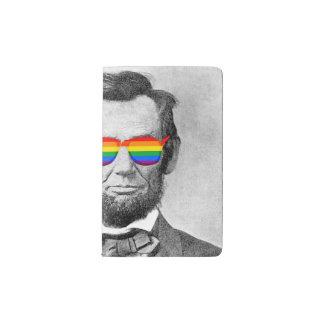 Gaybraham Lincoln Pocket Moleskine Notebook
