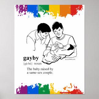 GAYBY (gay) Impresiones