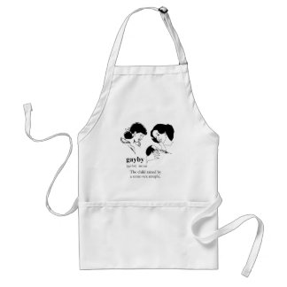 GAYBY (Lesbian) Aprons