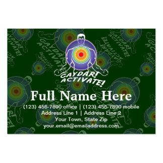 Gaydar! Activate! Rainbow Gay Large Business Card