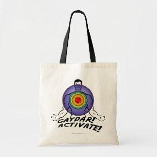 Gaydar! Activate! Rainbow Gay Tote Bag
