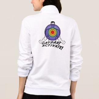 Gaydar! Activate! Rainbow Gay Printed Jackets