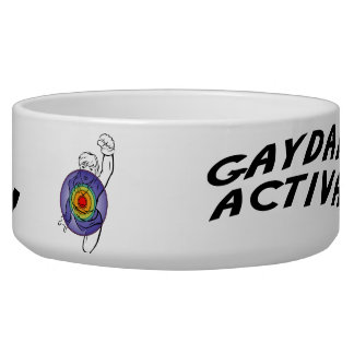 Gaydar! Activate! Rainbow Lesbian Bowl
