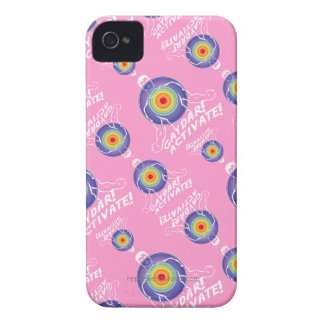Gaydar! Activate! Rainbow Lesbian Case-Mate iPhone 4 Case