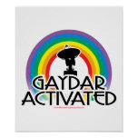 Gaydar Activated Posters