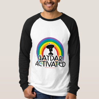 Gaydar Activated Shirt