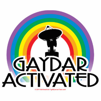 Gaydar Activated Statuette