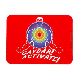 ¡Gaydar ¡Active Gay del arco iris Imán