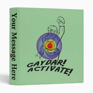 "¡Gaydar! ¡Active! Lesbiana del arco iris Carpeta 1"""