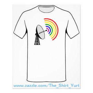 Gaydar Gay Rainbow Radar Flyer