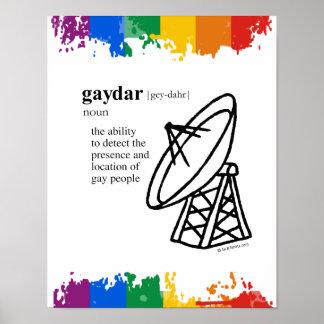 GAYDAR POSTERS