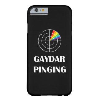 Gaydar que silba como una bala orgullo de LGBT Funda Para iPhone 6 Barely There