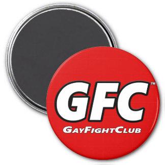GayFightClub™ Round Heavy Magnet