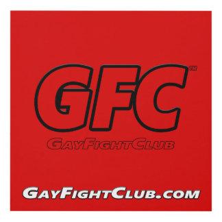 GayFightClub™ Wall Art