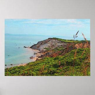 Gayhead Cliffs Print