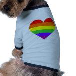 gayheart camisetas de perro