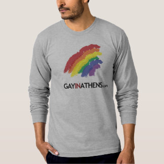 GayInAthens Rainbow - Customized 5 T-Shirt