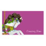 Gayle Carousel Horse Business Card