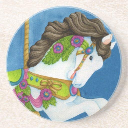 Gayle Carousel Horse Coaster