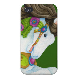 Gayle Carousel Horse iPhone 4 Cases