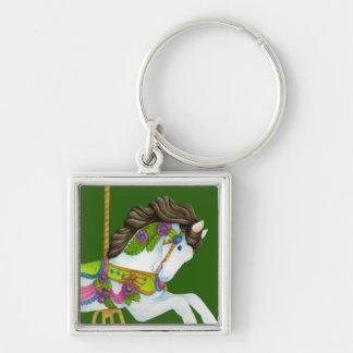 Gayle Carousel Horse Keychain