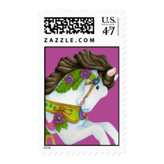 Gayle Carousel Horse Postage