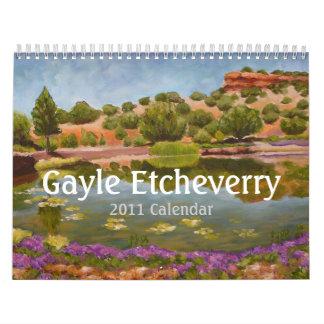 Gayle Etcheverry 2011 Calendar
