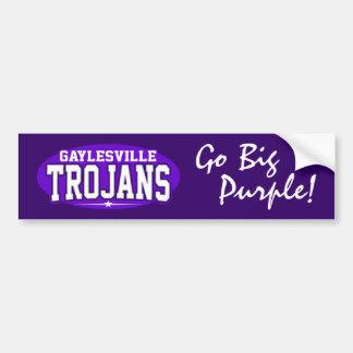 Gaylesville High School; Trojans Car Bumper Sticker