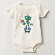 Gaylien (The Hollyweirdos) Baby Bodysuit
