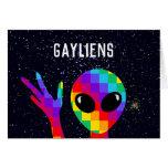 Gayliens Funny LGBT Pride Month Custom