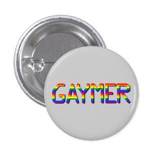 Gaymer Pinback Buttons