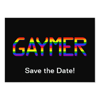 Gaymer Card