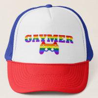 Gaymer, LGBTQ Gamers Gift Idea Trucker Hat